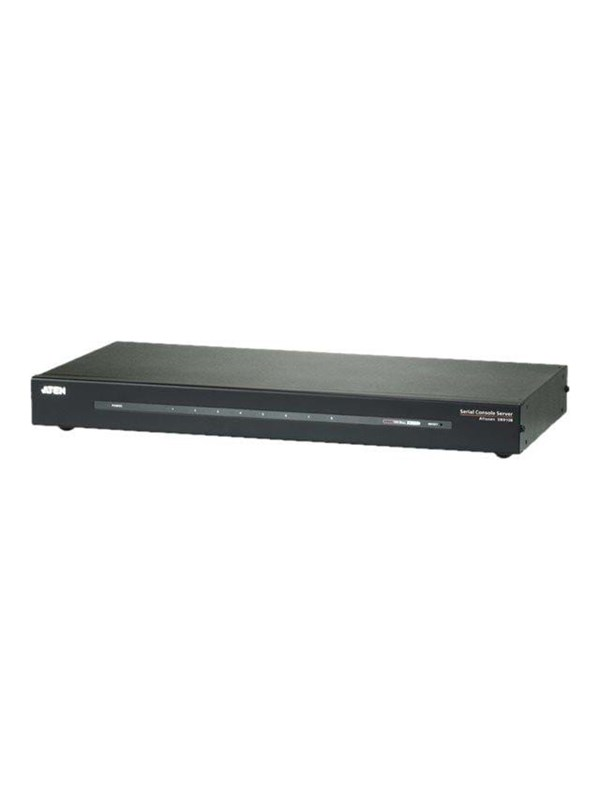 Image of   ATEN 8-port Serial Console Server 1xRJ45 for LAN.