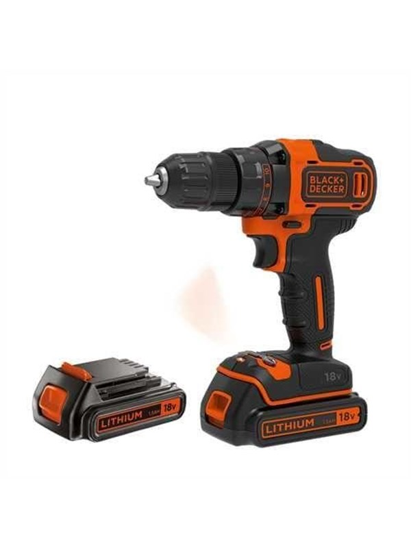 Image of   Black & Decker BDCDD186KB-QW