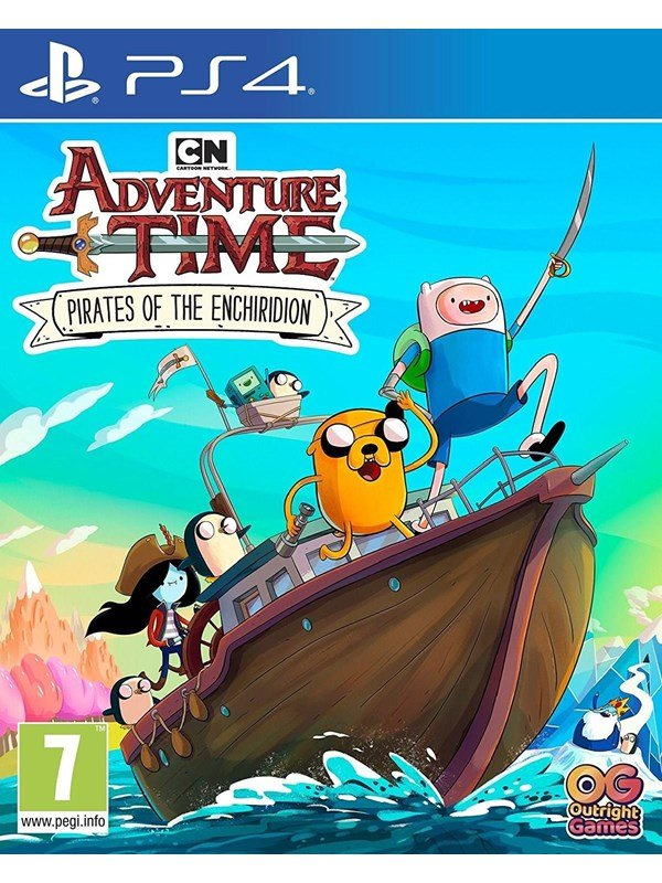 Image of   Adventure Time: Pirates of the Enchiridion - Sony PlayStation 4 - Action/Adventure