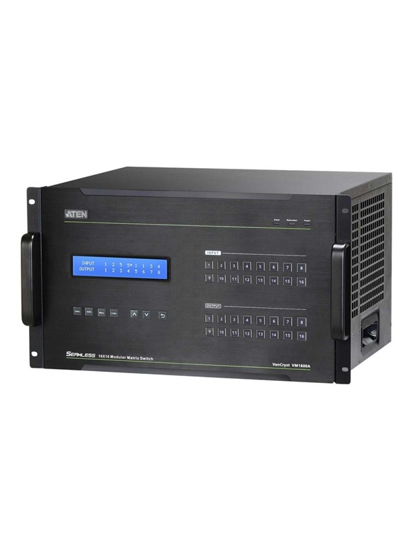 Image of   ATEN VM1600A 16x16 Modular Matrix Switch