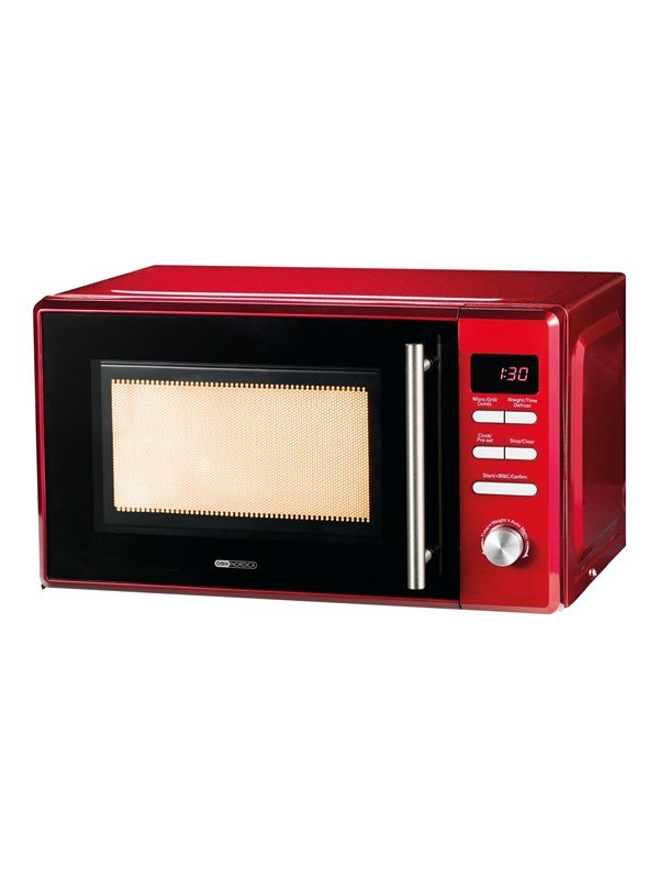 Image of   OBH Nordica Vega 7541 - microwave oven with grill - freestanding - chilli red