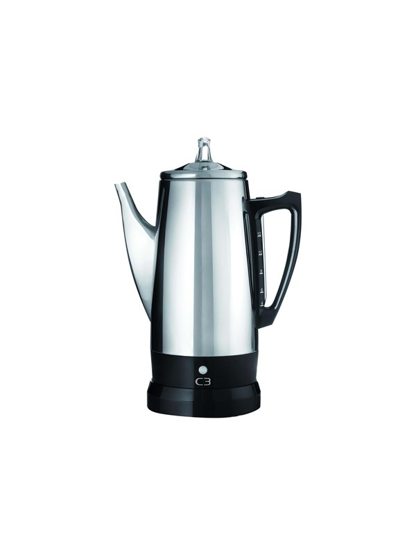 Image of   C3 Basic Eco - electric percolator - bright stainless steel