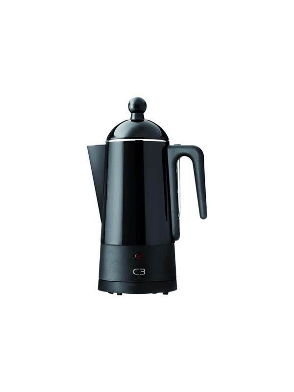 Image of   C3 Design Eco - electric percolator - black