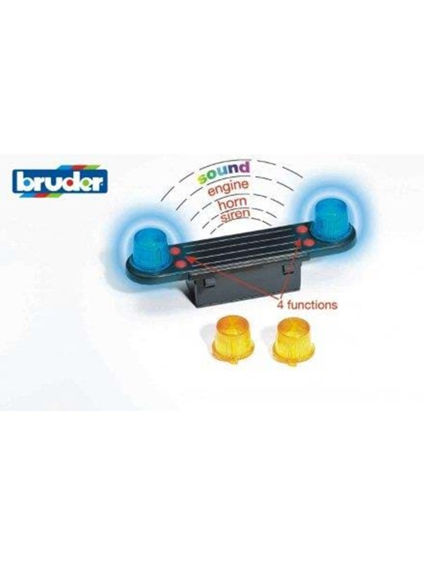 Image of   Bruder Accessories: Light and Sound Module (trucks)