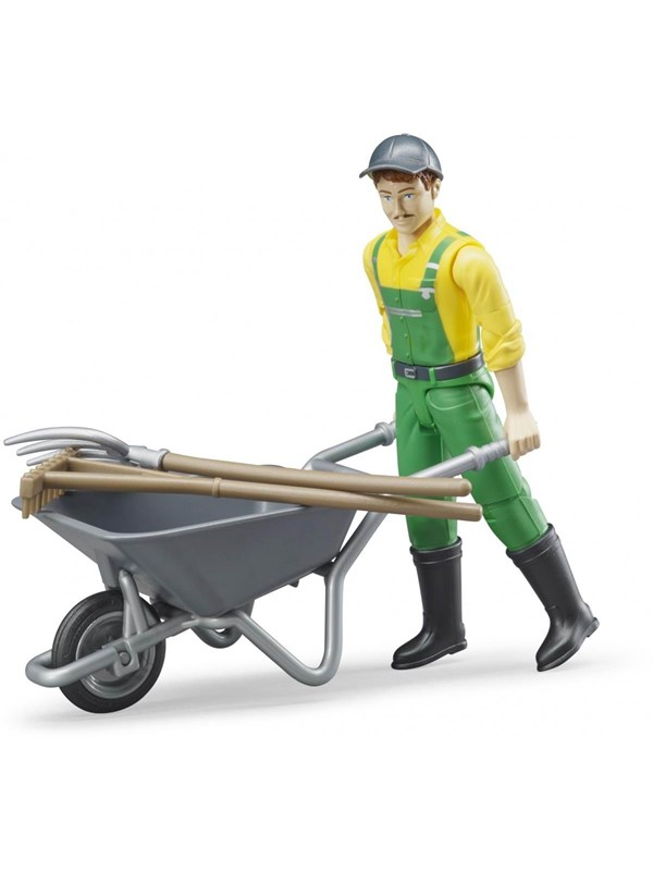 Image of   Bruder Figure set farmer
