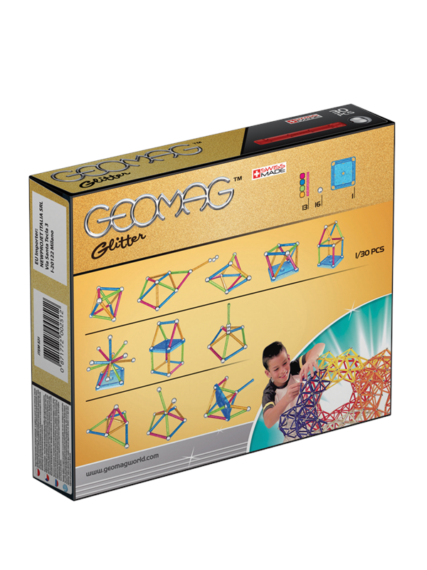 Image of   Geomag Glitter 30