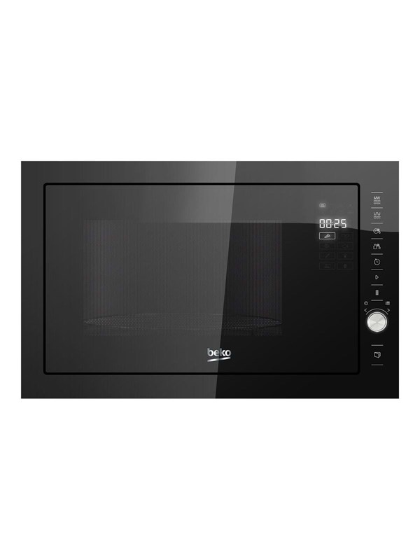 beko MGB25333BG - microwave oven with grill - built-in - black