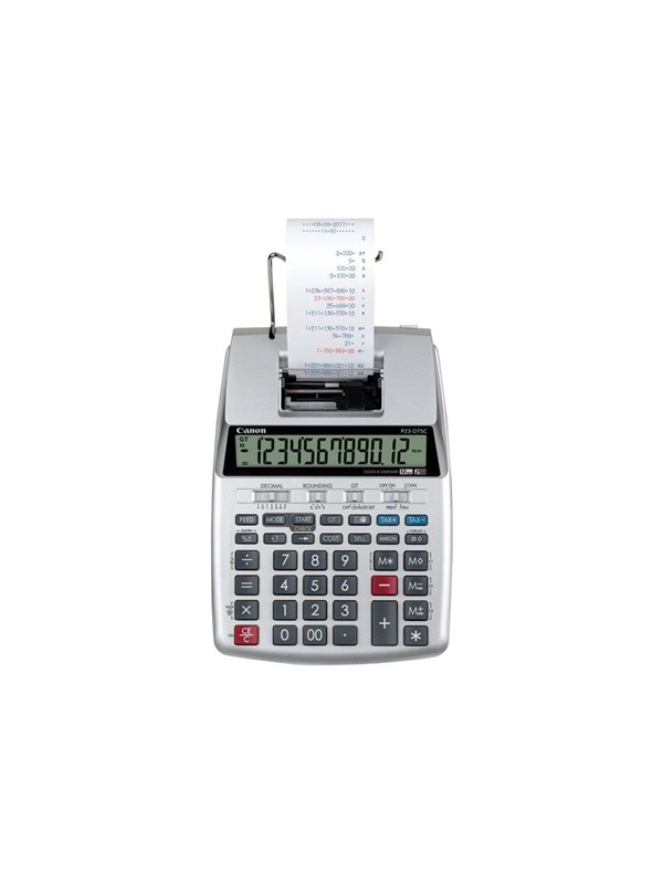 Image of   Canon P23-DTSC II - printing calculator