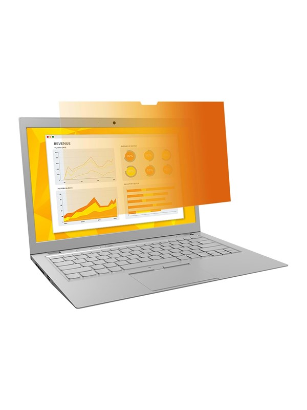 "Image of   3M Gold Privacy Filter til 17"" widescreen laptop"