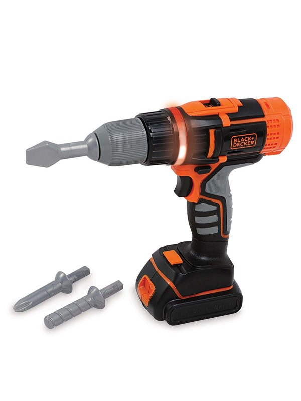 Image of   Smoby Black & Decker Electric Cordless Drill
