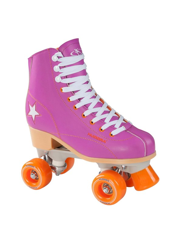 Image of   Hudora Disco roller skates purple/Orange size 36