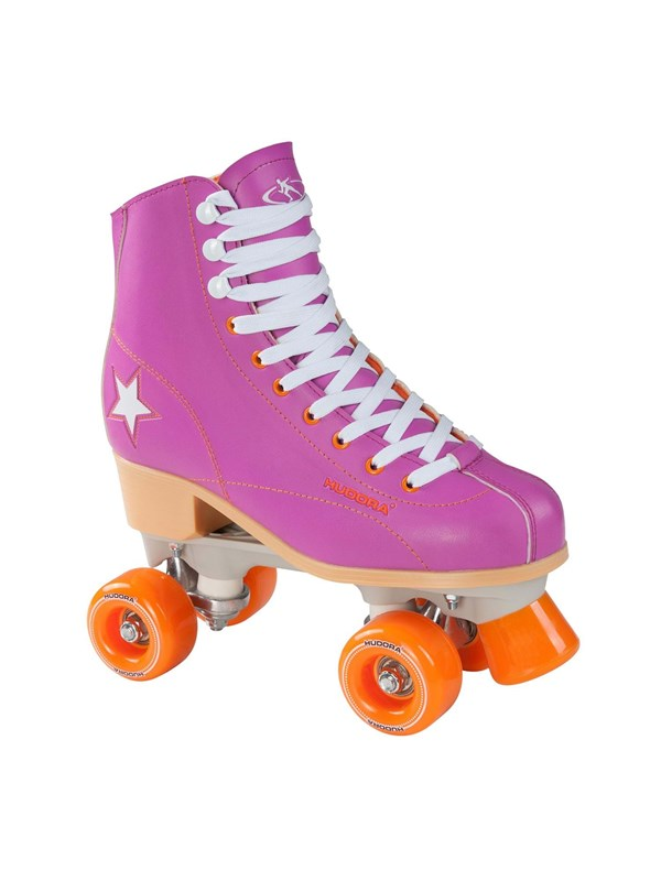 Image of   Hudora Disco roller skates purple/Orange size 37