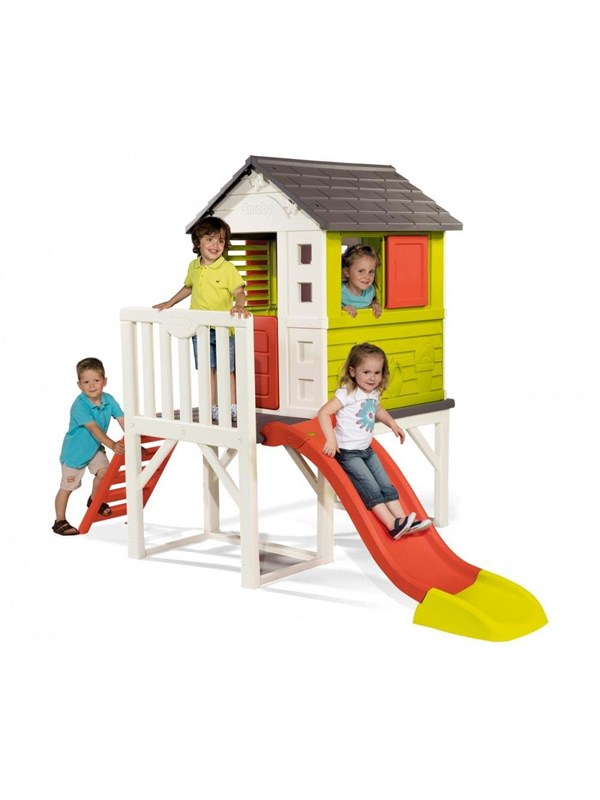 Image of   Smoby Playhouse with Slide