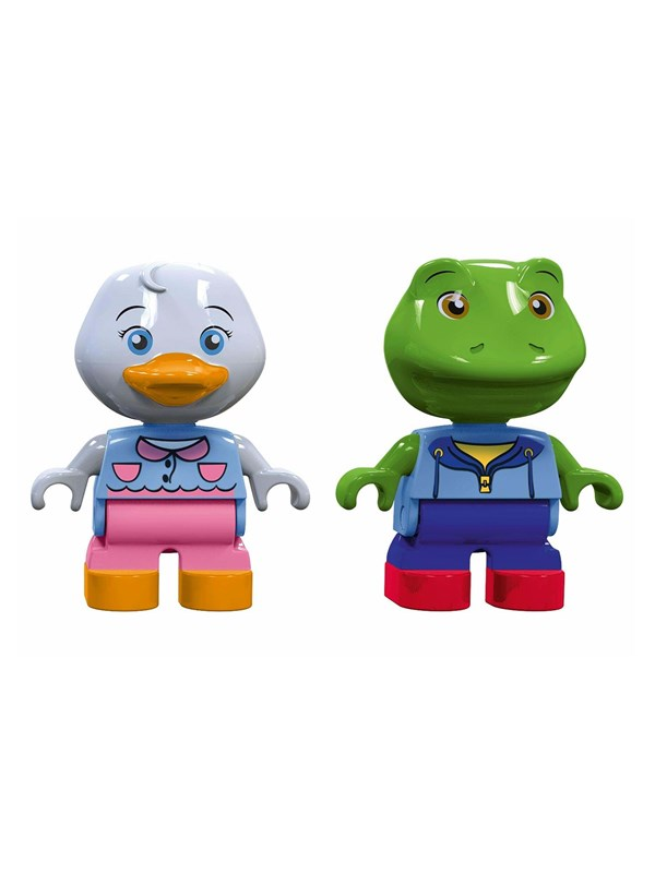 Image of   Aquaplay 235 - Play Figures Duck and Frog