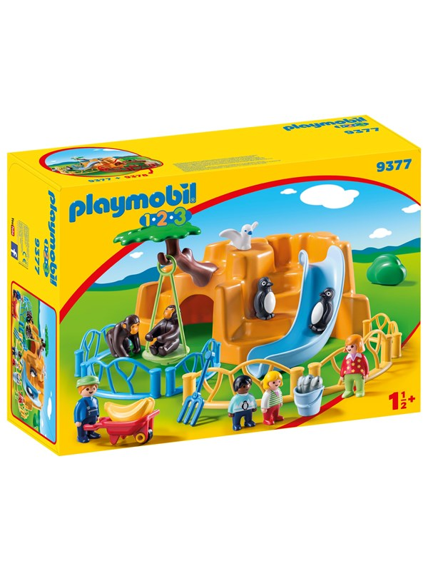 Image of   Playmobil 1.2.3 - Zoo