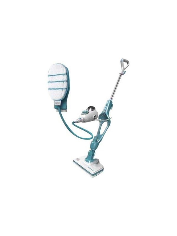 Black Decker Damprenser FSMH13151SM Gen 3 Steam Mop 15 in 1 with SteaMitt