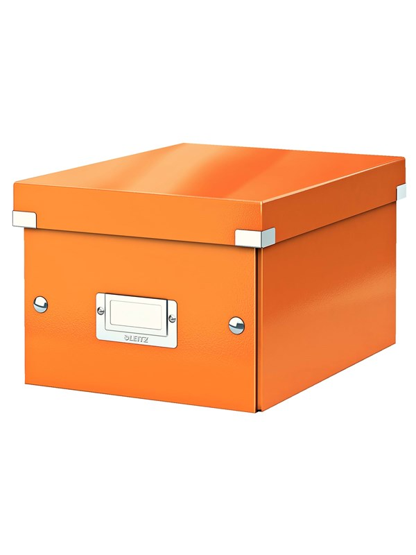 Image of   Leitz Arkivboks Click & Store lille WOW orange