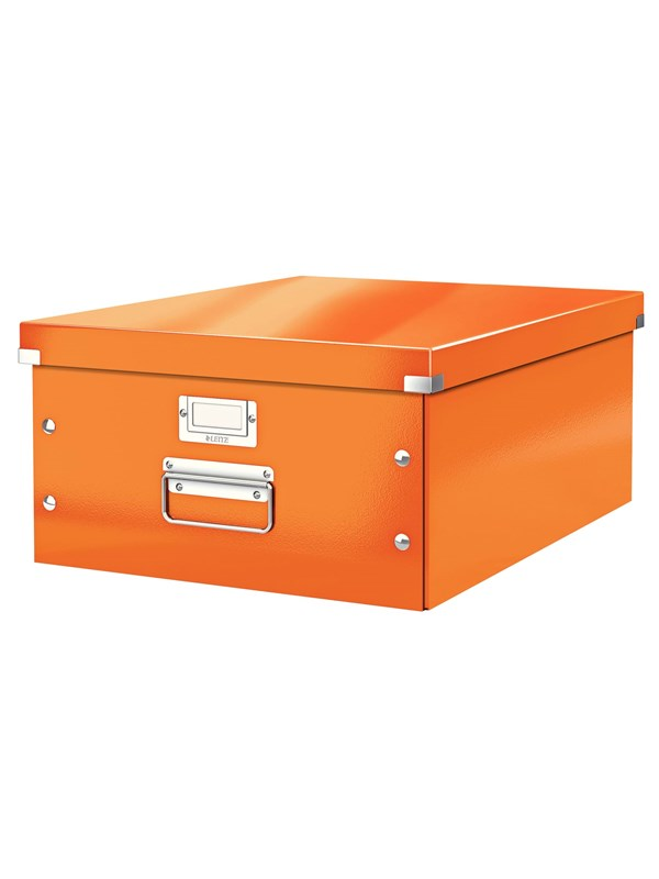 Image of   Leitz Arkivboks Click & Store stor WOW orange