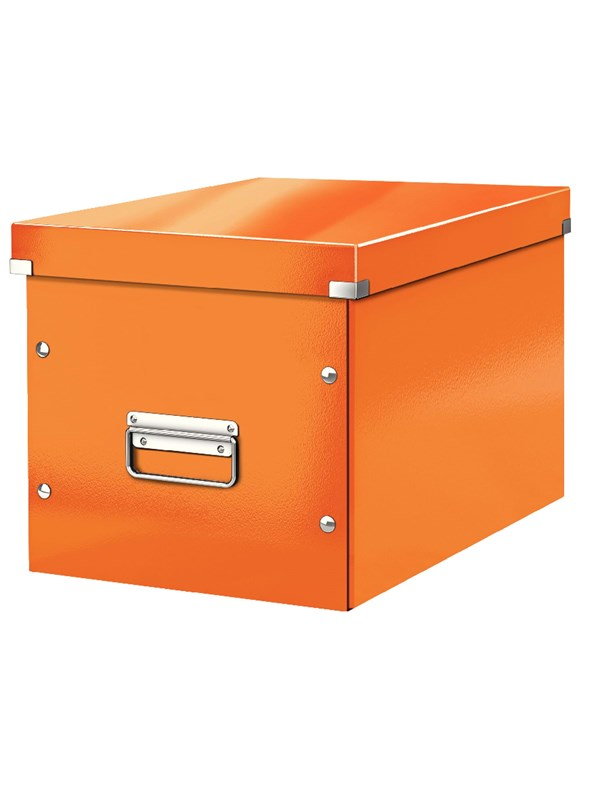 Image of   Leitz Arkivboks Click & Store Cube Large orang