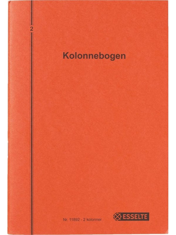 Image of   Esselte Kolonnebog 325x206 mm dob. konto