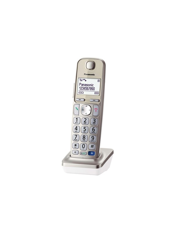 Image of   Panasonic KX-TGEA20 - cordless extension handset with caller ID