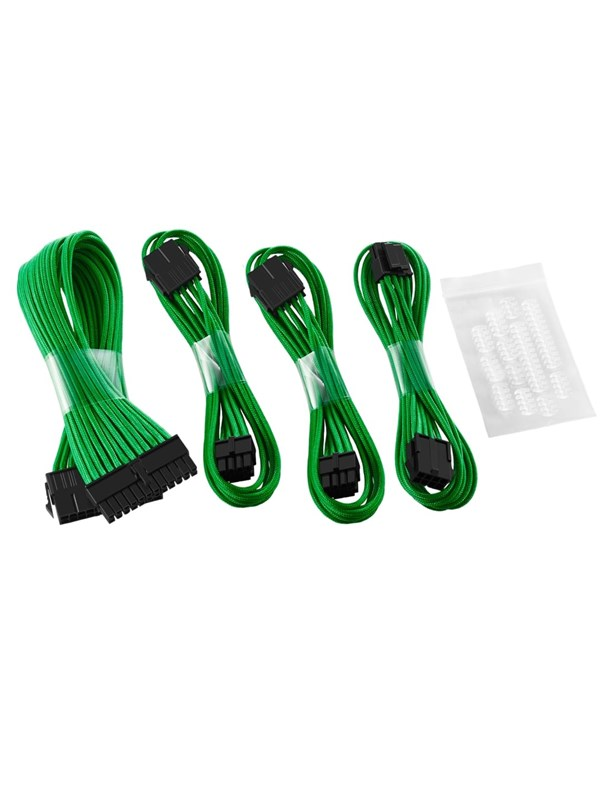 Image of   CableMod Basic ModFlex Extension Kit - Green