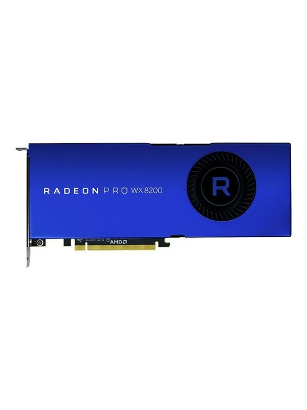 Image of   AMD Radeon Pro WX 8200 - 8GB HBM2 - Grafikkort