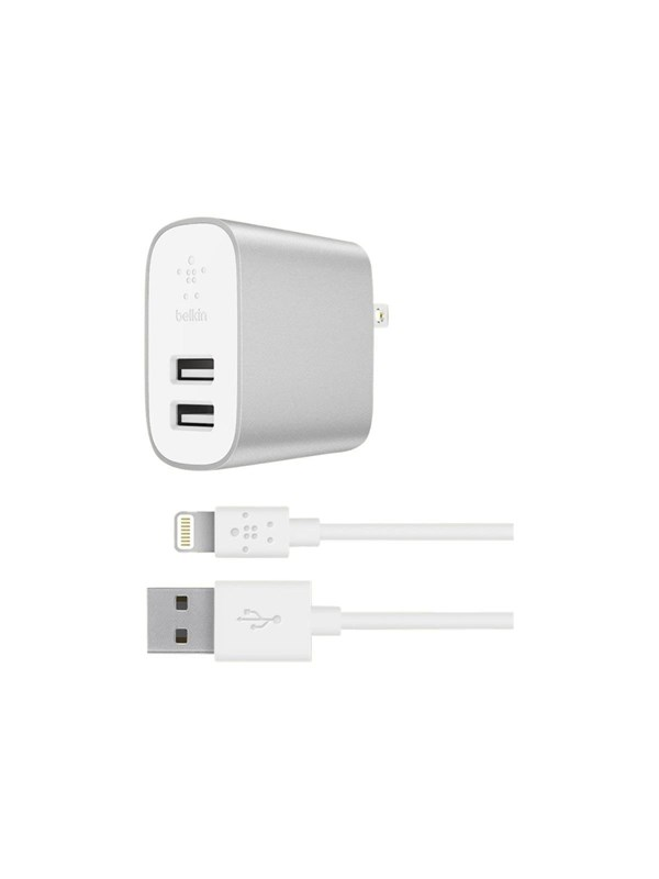 Image of   Belkin BOOST?CHARGE 2-Port Home Charger