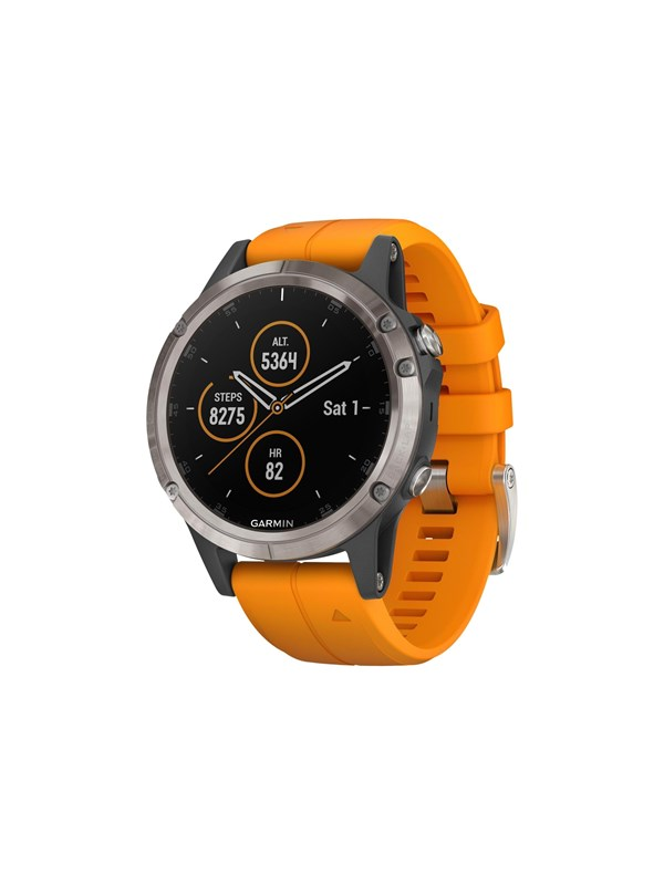 Image of   Garmin fenix 5 Plus - Orange