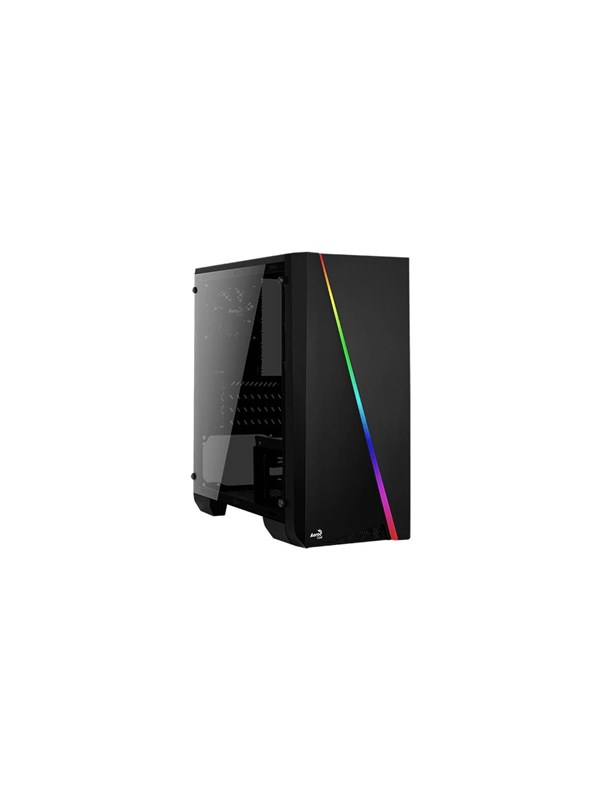 Image of   AeroCool Cylon Mini - Black - Kabinet - Minitower - Sort