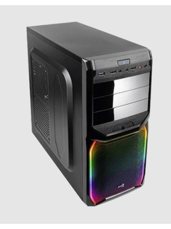 Image of   AeroCool V3X RGB - Kabinet - Miditower - Sort