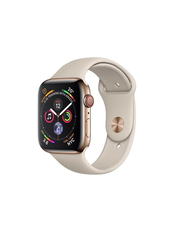 Image of   Apple Watch Series 4 (GPS + Cellular) 40mm - Gold Stainless Steel