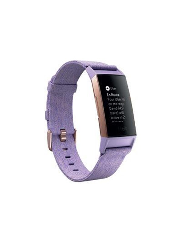 Image of   Fitbit Charge 3 Special Edition - rose gold/lavender