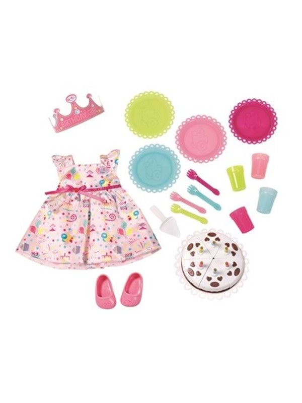 Image of   Baby Born ® Deluxe Party Set