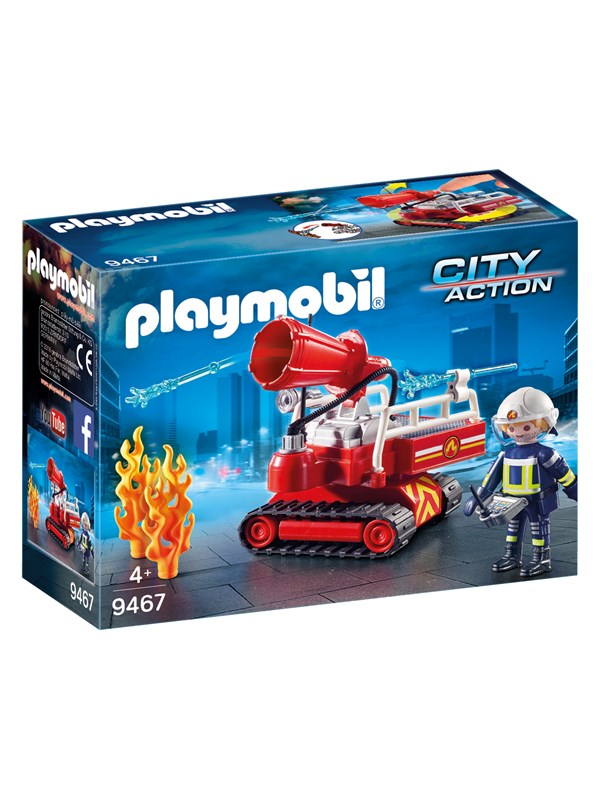 Image of   Playmobil City Action - Brandslukningsrobot med vand