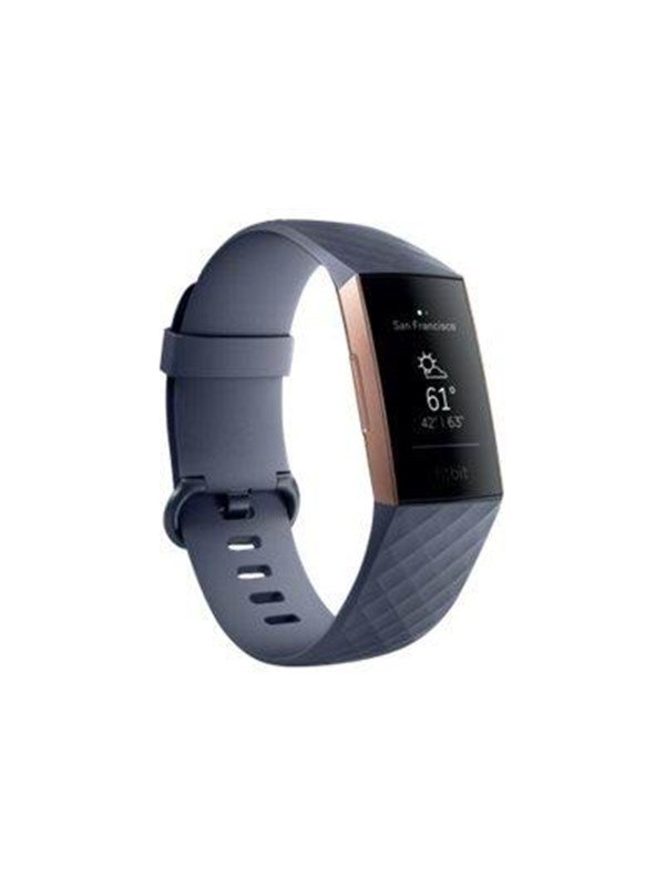Image of   Fitbit Charge 3 - rose gold/blue grey