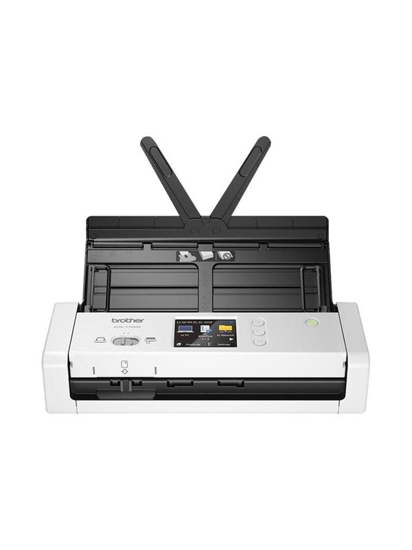 Image of   Brother ADS-1700W - document scanner - portable - USB 3.0 Wi-Fi(n) USB 2.0 (Host)