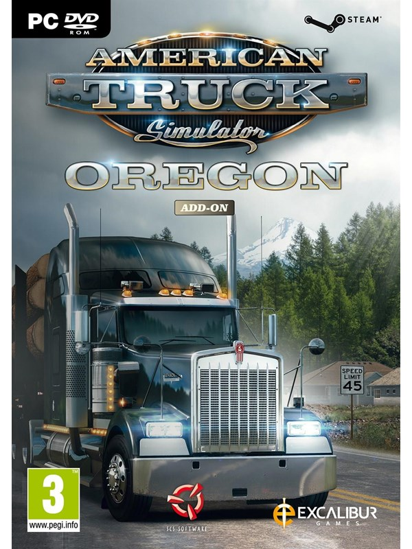 Image of   American Truck Simulator: Add-on Oregon - Windows - Simulator