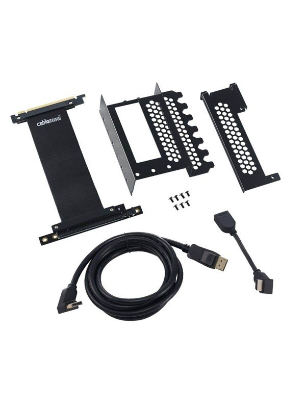 Image of   CableMod Vertical PCI-E Bracket - DisplayPort + HDMI