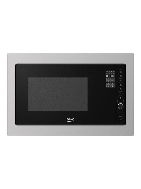 beko MGB25332BG - microwave oven with grill - built-in - stainless steel