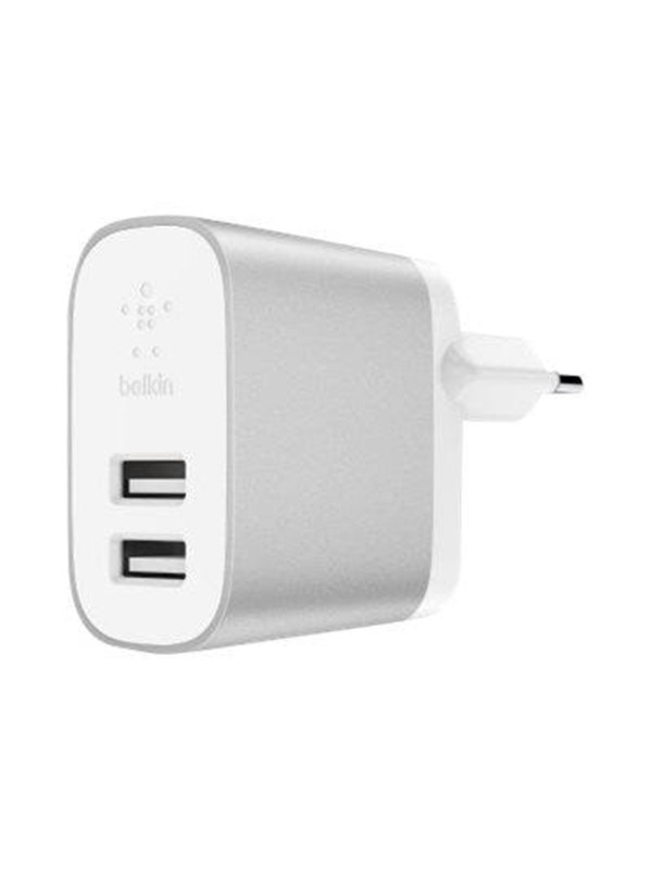 Image of   Belkin BOOST↑CHARGE 2-Port Home Charger