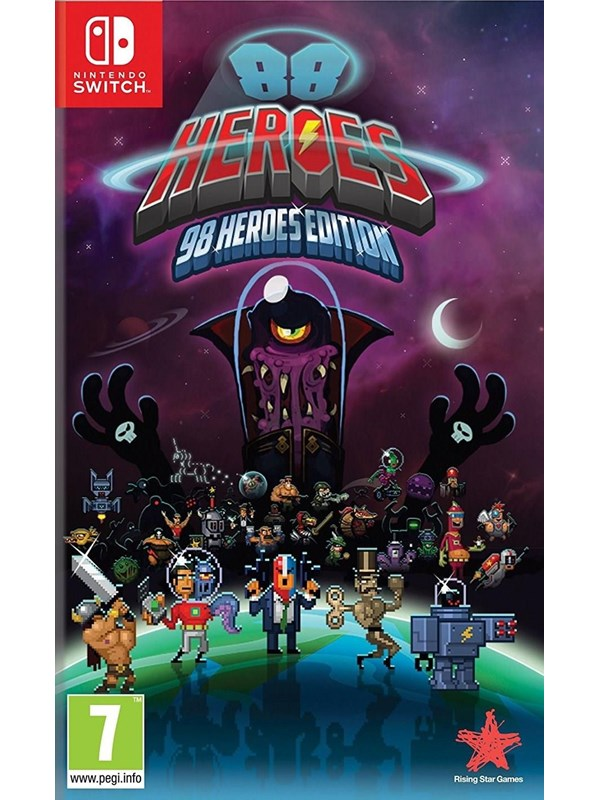 Image of   88 Heroes: 98 Heroes Edition - Nintendo Switch - Action