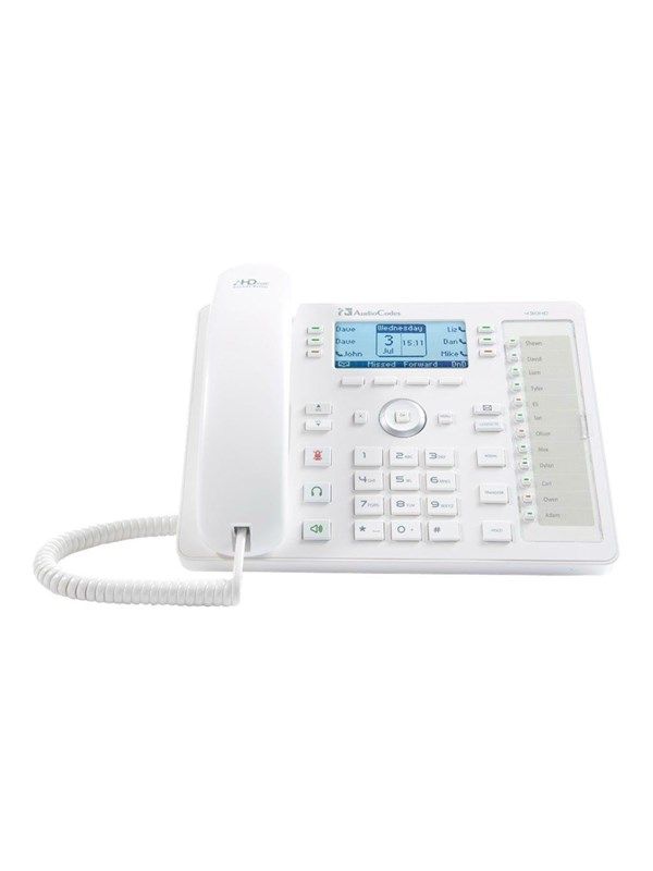 Image of   AudioCodes 430HD SIP IP Phone - VoIP phone