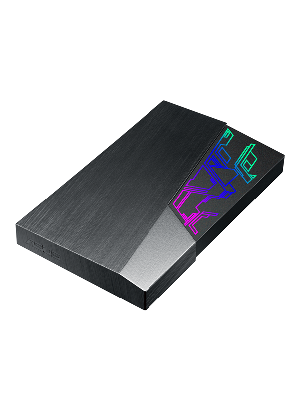 Image of   ASUS FX GAMING HDD - EHD-A1TEXT - Ekstern Harddisk - 1 TB - Sort