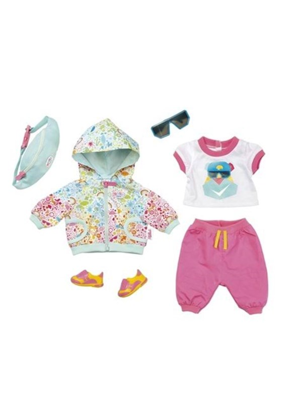 Image of   Baby Born Play&Fun Deluxe Biker Outfit