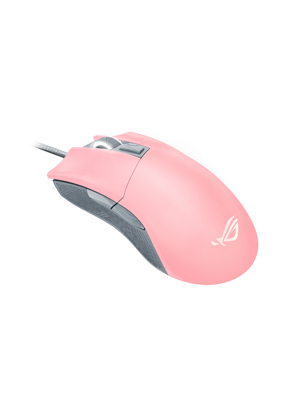 Image of   ASUS ROG Gladius II Origin PNK LTD - Gaming Mus - Optisk - 6 knapper - Pink