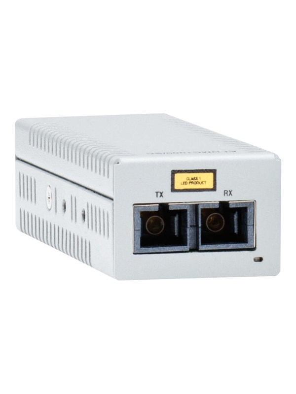 Image of   Allied Telesis AT-DMC1000/LC - fibre media converter - GigE