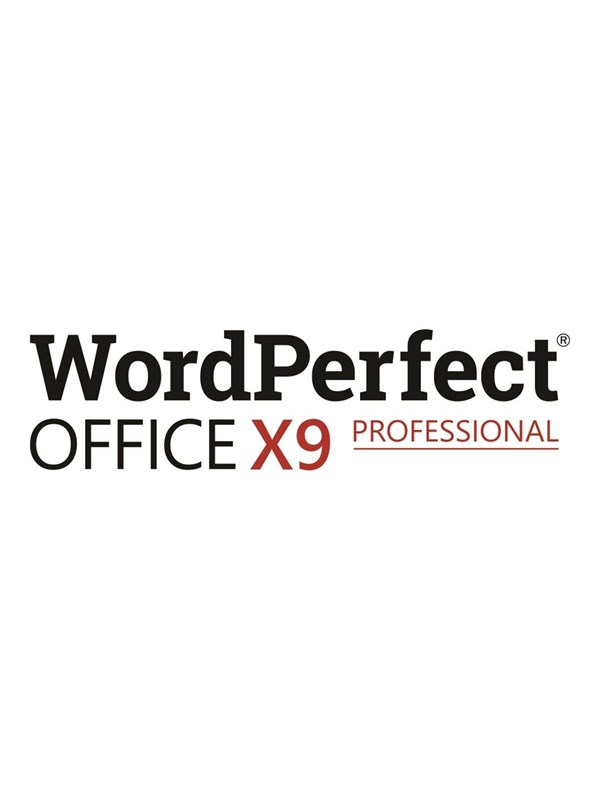 Image of   Corel WordPerfect Office X9 Professional Edition - Multilingual