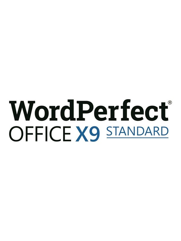 Image of   Corel WordPerfect Office X9 Standard Edition -
