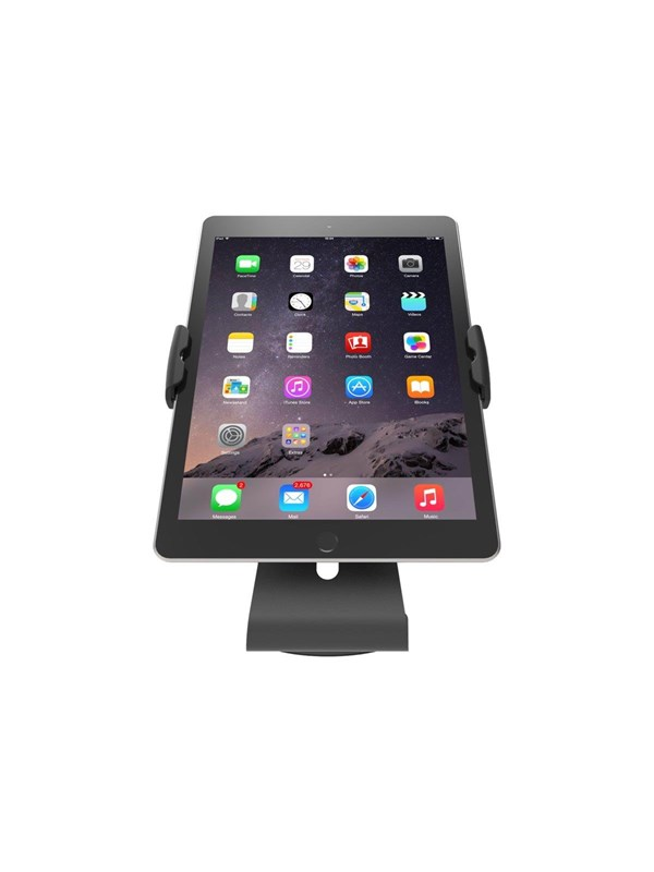 Image of   Compulocks Cling Stand - Universal Tablet Counter Top Kiosk - Black